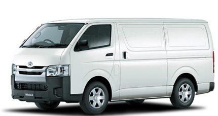 Toyota Hiace manual diesel van